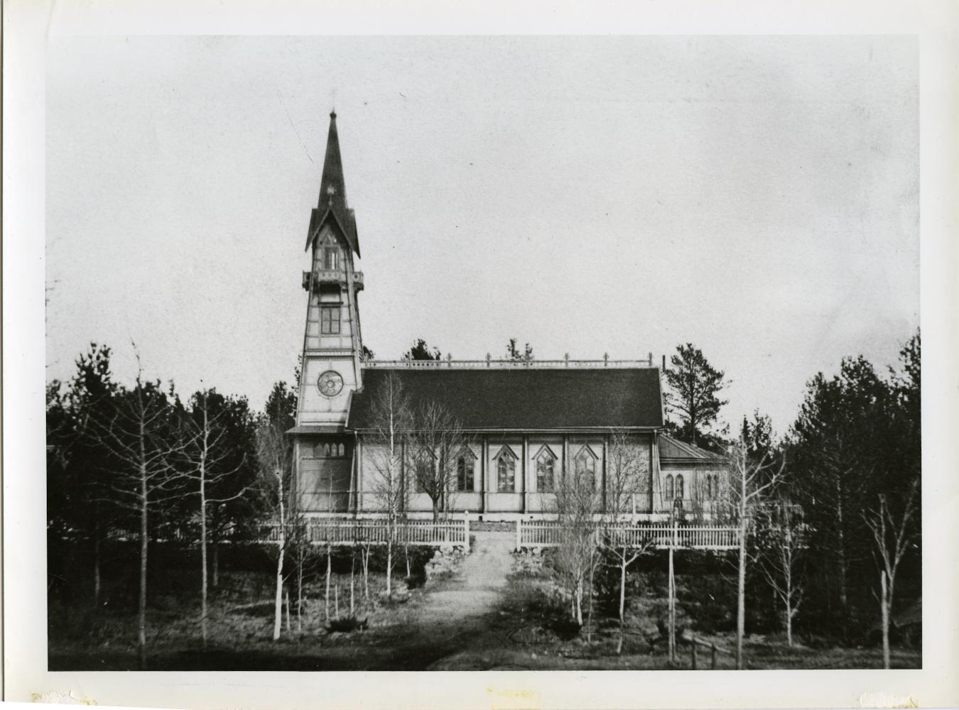 Kyrkan år 1893