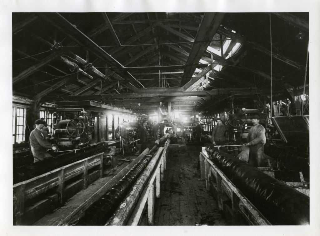 Sågverket år 1920
