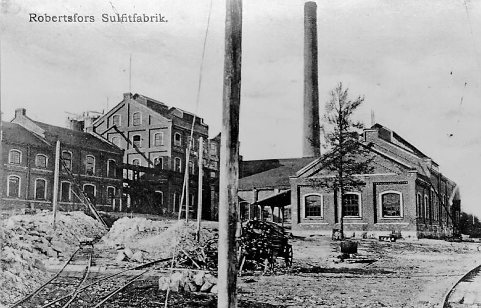 Sulfitfabriken början 1900-talet